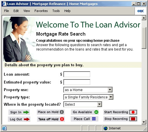 softphone mortgage application