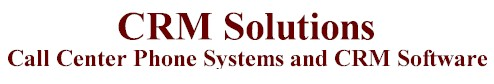 CRM solutions crm solution software