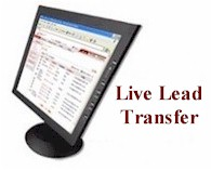 live transfer leads management