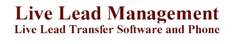 live lead transfer software