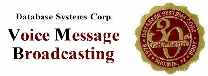 voice messages broadcasting system