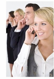 call center services and message services